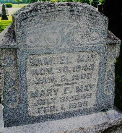 MAY, SAMUEL - Montgomery County, Ohio   SAMUEL MAY - Ohio Gravestone Photos