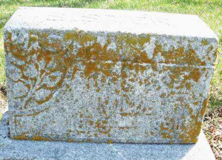 MILLER, ? - Montgomery County, Ohio   ? MILLER - Ohio Gravestone Photos