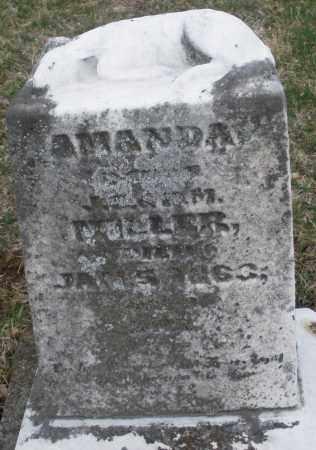 MILLER, AMANDA - Montgomery County, Ohio | AMANDA MILLER - Ohio Gravestone Photos