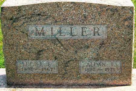 MILLER, ALLAN T - Montgomery County, Ohio | ALLAN T MILLER - Ohio Gravestone Photos