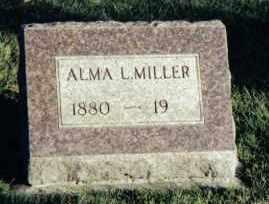 MILLER, ALMA L. - Montgomery County, Ohio   ALMA L. MILLER - Ohio Gravestone Photos
