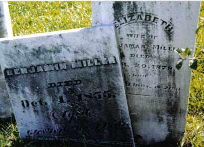 MILLER, ELIZABETH - Montgomery County, Ohio | ELIZABETH MILLER - Ohio Gravestone Photos