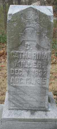 MILLER, CATHARINA - Montgomery County, Ohio | CATHARINA MILLER - Ohio Gravestone Photos