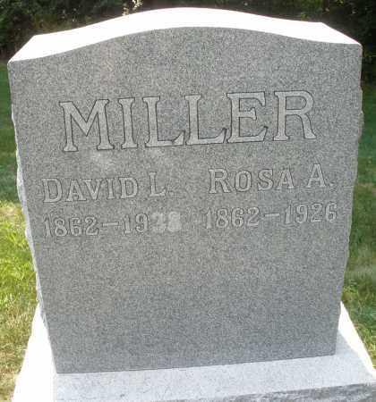 MILLER, DAVID L. - Montgomery County, Ohio | DAVID L. MILLER - Ohio Gravestone Photos