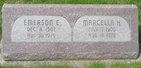 MILLER, EMERSON E - Montgomery County, Ohio | EMERSON E MILLER - Ohio Gravestone Photos