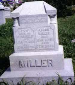 MILLER, AARON - Montgomery County, Ohio | AARON MILLER - Ohio Gravestone Photos