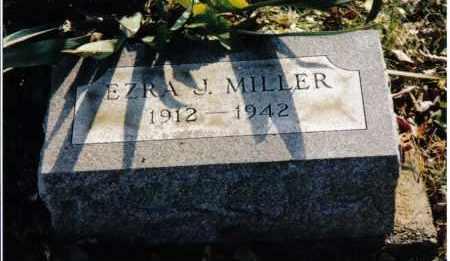 MILLER, EZRA J. - Montgomery County, Ohio   EZRA J. MILLER - Ohio Gravestone Photos