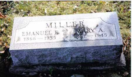 MILLER, EMANUEL E. - Montgomery County, Ohio | EMANUEL E. MILLER - Ohio Gravestone Photos