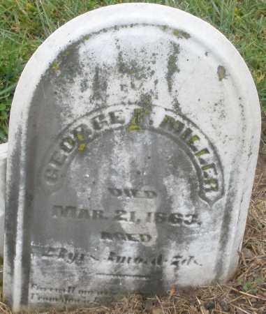 MILLER, GEORGE - Montgomery County, Ohio | GEORGE MILLER - Ohio Gravestone Photos