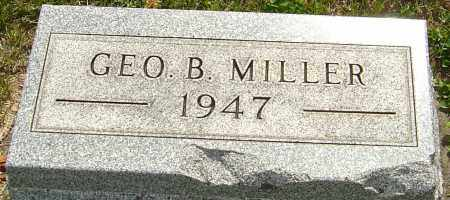 MILLER, GEORGE BENTON - Montgomery County, Ohio | GEORGE BENTON MILLER - Ohio Gravestone Photos