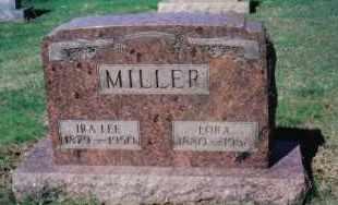 MILLER, LORA A. - Montgomery County, Ohio | LORA A. MILLER - Ohio Gravestone Photos