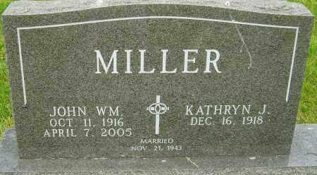 MILLER, JOHN WILLIAM - Montgomery County, Ohio | JOHN WILLIAM MILLER - Ohio Gravestone Photos