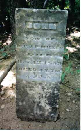 MILLER, JOHN - Montgomery County, Ohio   JOHN MILLER - Ohio Gravestone Photos