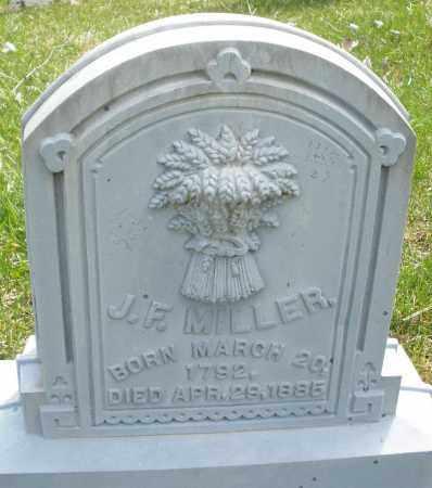 MILLER, J.F. - Montgomery County, Ohio | J.F. MILLER - Ohio Gravestone Photos