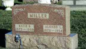 MILLER, ALONZO L. - Montgomery County, Ohio | ALONZO L. MILLER - Ohio Gravestone Photos