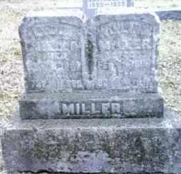 MILLER, WILLIAM - Montgomery County, Ohio | WILLIAM MILLER - Ohio Gravestone Photos