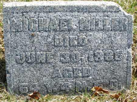 MILLER, MICHAEL - Montgomery County, Ohio | MICHAEL MILLER - Ohio Gravestone Photos