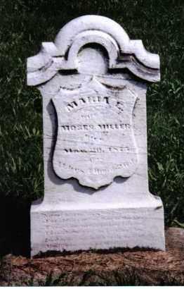 MILLER, MARIA E. - Montgomery County, Ohio   MARIA E. MILLER - Ohio Gravestone Photos