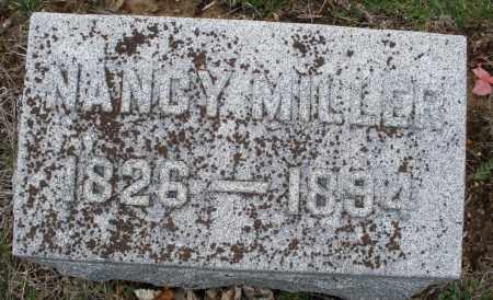 MILLER, NANCY - Montgomery County, Ohio   NANCY MILLER - Ohio Gravestone Photos
