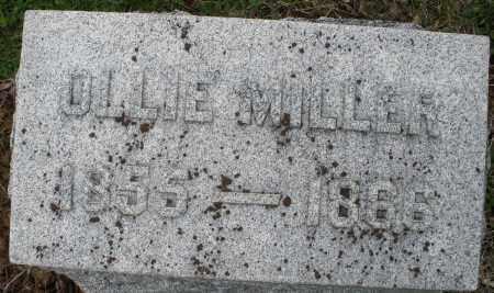 MILLER, OLLIE - Montgomery County, Ohio | OLLIE MILLER - Ohio Gravestone Photos