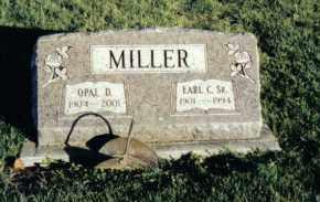 MILLER, EARL C., SR. - Montgomery County, Ohio   EARL C., SR. MILLER - Ohio Gravestone Photos