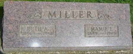 MILLER, MAMIE E - Montgomery County, Ohio | MAMIE E MILLER - Ohio Gravestone Photos