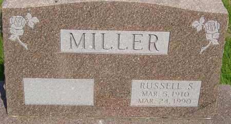 MILLER, RUSSELL  SHELDON - Montgomery County, Ohio   RUSSELL  SHELDON MILLER - Ohio Gravestone Photos