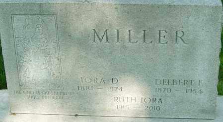 MILLER, RUTH IORA - Montgomery County, Ohio | RUTH IORA MILLER - Ohio Gravestone Photos