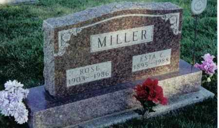 MILLER, ESTA C. - Montgomery County, Ohio | ESTA C. MILLER - Ohio Gravestone Photos