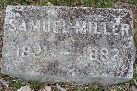 MILLER, SAMUEL - Montgomery County, Ohio | SAMUEL MILLER - Ohio Gravestone Photos