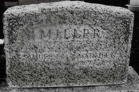 MILLER, SAMUEL E. - Montgomery County, Ohio | SAMUEL E. MILLER - Ohio Gravestone Photos