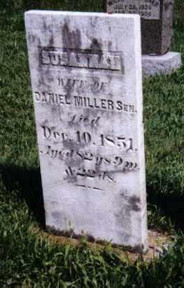MILLER, SUSANNAH - Montgomery County, Ohio | SUSANNAH MILLER - Ohio Gravestone Photos