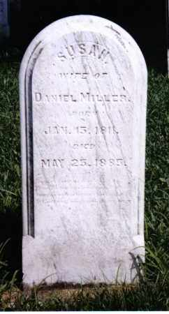 MILLER, SUSAN - Montgomery County, Ohio | SUSAN MILLER - Ohio Gravestone Photos