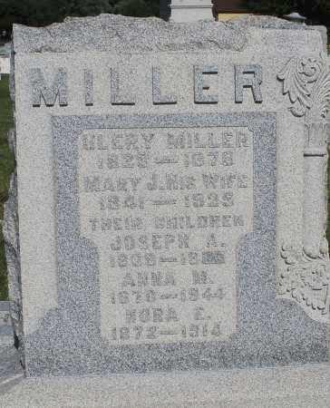 MILLER, ANNA M. - Montgomery County, Ohio | ANNA M. MILLER - Ohio Gravestone Photos