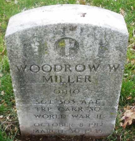 MILLER, WOODROW W. - Montgomery County, Ohio | WOODROW W. MILLER - Ohio Gravestone Photos
