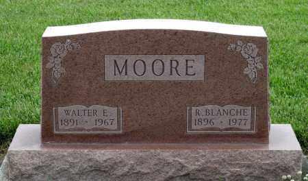 MOORE, WALTER E. - Montgomery County, Ohio   WALTER E. MOORE - Ohio Gravestone Photos