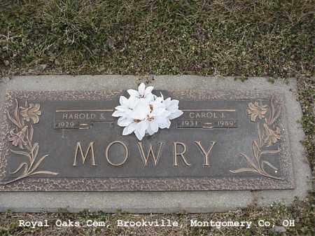 MOWRY, CAROL - Montgomery County, Ohio | CAROL MOWRY - Ohio Gravestone Photos