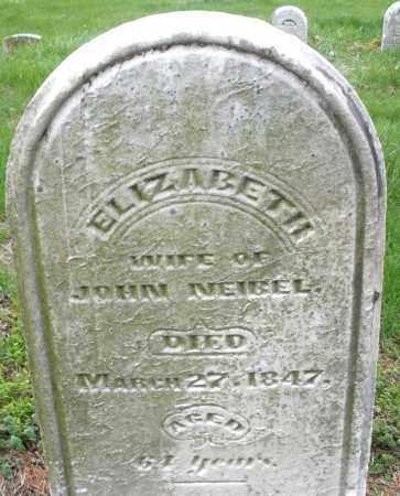 NEIBEL, ELIZABETH - Montgomery County, Ohio   ELIZABETH NEIBEL - Ohio Gravestone Photos