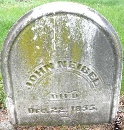 NEIBEL, JOHN - Montgomery County, Ohio | JOHN NEIBEL - Ohio Gravestone Photos