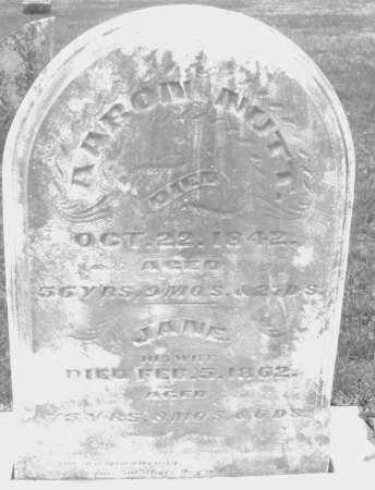 NUTT, AARON - Montgomery County, Ohio   AARON NUTT - Ohio Gravestone Photos
