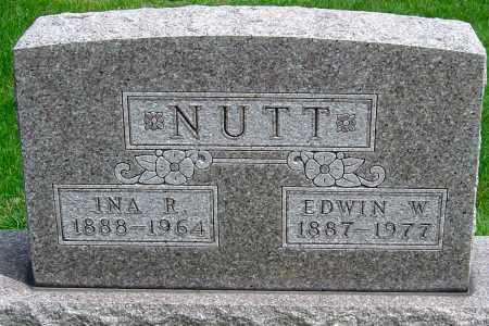 NUTT, INA R - Montgomery County, Ohio   INA R NUTT - Ohio Gravestone Photos