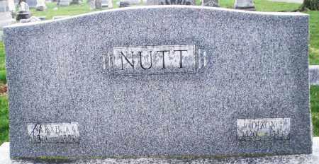 NUTT, SARAH - Montgomery County, Ohio | SARAH NUTT - Ohio Gravestone Photos