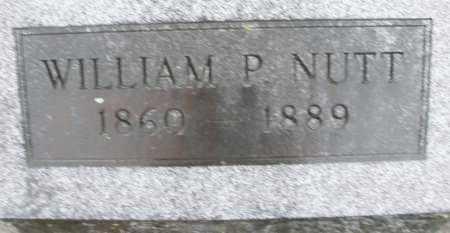 NUTT, WILLIAM P. - Montgomery County, Ohio   WILLIAM P. NUTT - Ohio Gravestone Photos