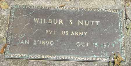 NUTT, WILBUR SIMPSON - Montgomery County, Ohio | WILBUR SIMPSON NUTT - Ohio Gravestone Photos