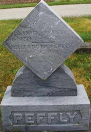 PEFFLY, DANIEL - Montgomery County, Ohio | DANIEL PEFFLY - Ohio Gravestone Photos