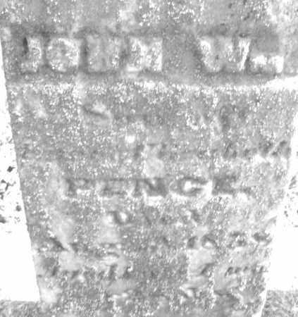 PENCE, JOHN W. - Montgomery County, Ohio | JOHN W. PENCE - Ohio Gravestone Photos