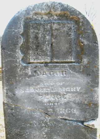 PENCE, JACOB - Montgomery County, Ohio   JACOB PENCE - Ohio Gravestone Photos