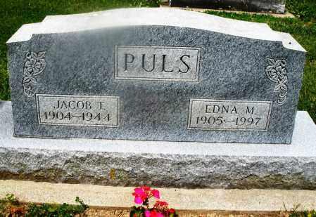 PULS, EDNA M. - Montgomery County, Ohio | EDNA M. PULS - Ohio Gravestone Photos
