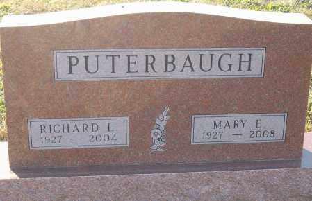 PUTERBAUGH, RICHARD L - Montgomery County, Ohio | RICHARD L PUTERBAUGH - Ohio Gravestone Photos