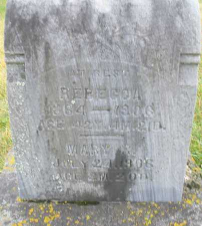 REEDER, MARY R. - Montgomery County, Ohio | MARY R. REEDER - Ohio Gravestone Photos